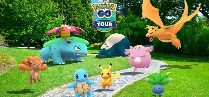 Pokémon GO Tour カントー地方